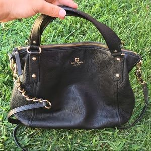 SMALL BLACK KATE SPADE PURSE